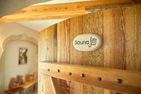 spa, relaxation and healthcare in finnish wooden sauna room
