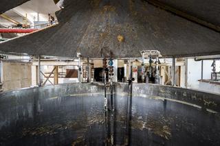 Seifensiederei in einer alten Seifenfabrik