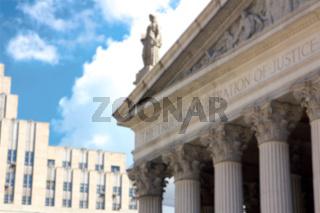 NYC New York State Supreme Court blur