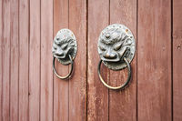 traditional knocker closeup