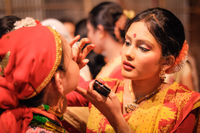 Girls preparation in Assam