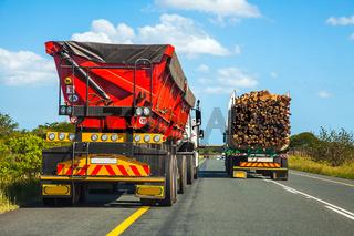 LKW Rennen in Südafrika