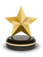bronce star trophy