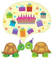 Party turtles theme image 3