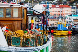 Hafen von Fish Hoek Südafrika