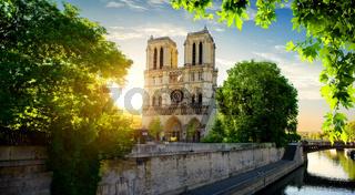 Notre Dame on Seine