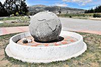 La Bola de Guachala in Ecuador