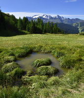 Marmoladablick; Suedtirol; Dolomiten; Italien