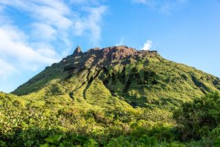 Volcano 'La Soufrière'