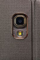 Phone camera closeup