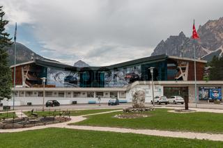 Stadio Olympico del Ghiaccio, Cortina d'Ampezzo