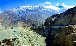 The grand karakorum highway