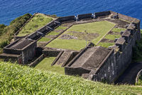 The Prince of Wales Bastion Brimstone Hill St. Kitts West Indies