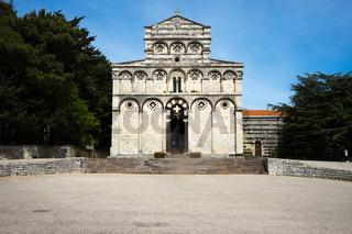 Klosterkirche San Pietro di Sorres, Sardinien