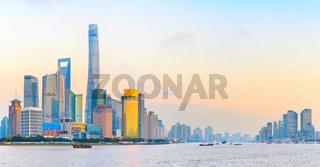 Shanghai urban panorama, China