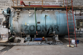 Dampfkessel in einer alten Seifenfabrik