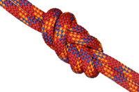 Seilknoten in Achterform