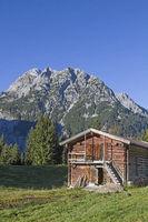 Karlalm im Risser Tal in Tirol