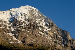 der berühmte Eiger in den schweizer Alpen