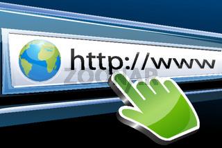 website with cursor