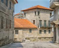 Altstadt von Pontevedra, Camino de Santiago, Spanien