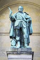 a statue in the Feldherrenhalle Munich Germany