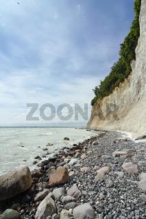 Kreidefelsen auf der Insel Rügen