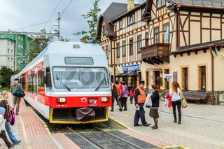 Tatrabahnen in Stary Smokovec