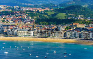 San Sebastian in Spain