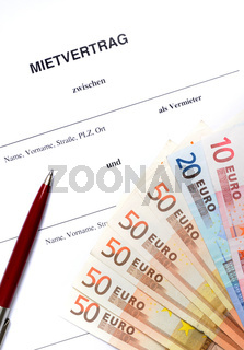 Mietvertrag / Lease agreement
