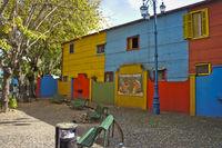 Argentina, Buenos Aires, Caminito, La Boca, street view
