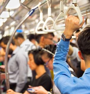 Singapore metro train