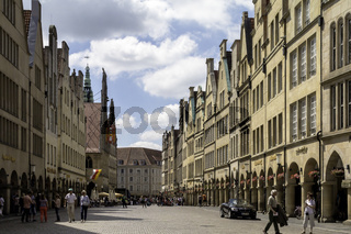 Prinzipalmarkt, Altstadt, Stadtmitte, Münster, NRW