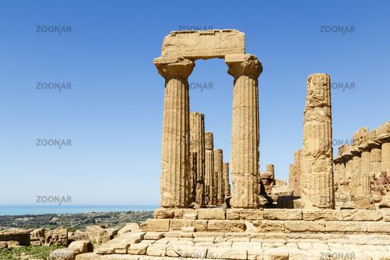 Tal der Tempel, Agrigent, Sizilien, Italien