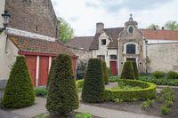 Bruges complex of the medieval St. John's hospital