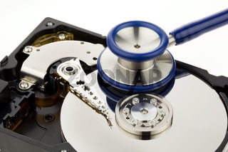Datenrettung der Festplatte des Computers