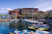 Torri del Benaco Hafen - Torri del Benaco harbour on Lake Garda in Italy