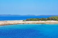 Kroatische Insel Losinj in der Adria