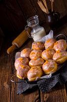 a tasty Berliner (doughnut)