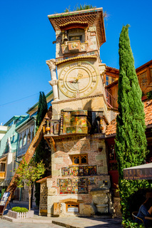 The clock tower, Tbilisi