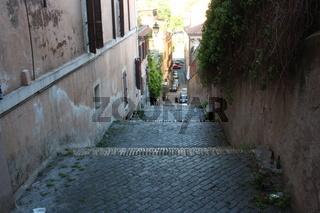 Rom, Treppe am Gianicolo Hügel