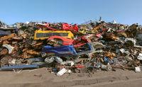Crashed Car Pile