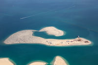 Dubai The World Welt Insel Clarence Luftaufnahme Luftbild