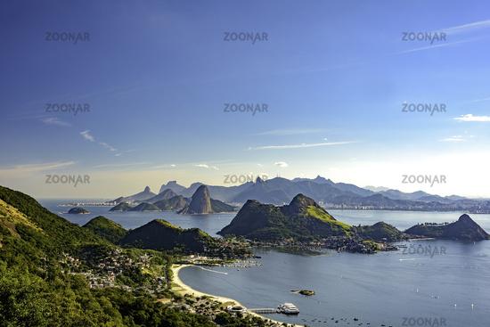 View of Rio de Janeiro from Niteroi