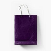 Violet shopping bag