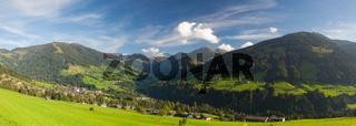 The alpine village of Alpbach and the Alpbachtal, Austria.