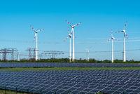 Erneuerbare Energien und Stromtrassen