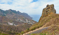 Beautiful view of coast in Tenerife
