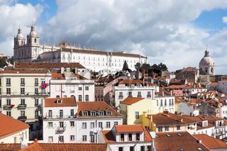 Altstadt und Kathedrale von Lissabon, Portugal