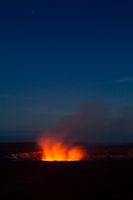 Kilauea bei Nacht